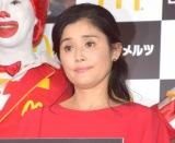 マクドナルド・冬のキャンペーン『HOT JAPAN』の発表会に参加した石田ひかり (C)ORICON NewS inc.