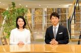 『報道ステーション』富川悠太(右)、小川彩佳(左)(C)テレビ朝日