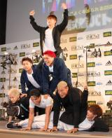 「スポーツデポ」「アルペン」の『試着フェス〜adidas fitting festival with GENERATIONS〜』新TVCM発表イベントに出席したGENERATIONS from EXILE TRIBE (C)oricon ME inc.