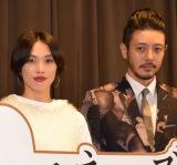 (左から)臼田あさ美、オダギリジョー (C)ORICON NewS inc.