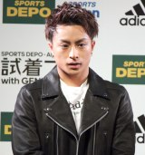 『試着フェス〜adidas fitting festival with GENERATIONS〜』新TVCM発表イベントに出席したGENERATIONS from EXILE TRIBE・白濱亜嵐 (C)ORICON NewS inc.