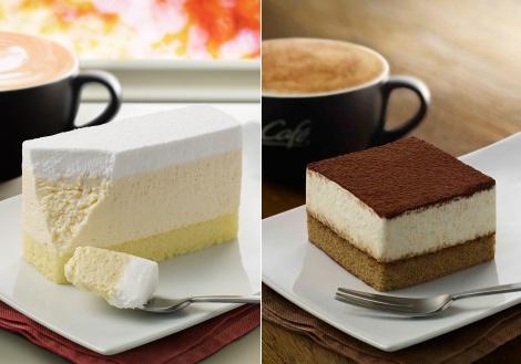 サムネイル マックカフェのデザートメニューに『レアチーズケーキ』と『ティラミス』が仲間入り