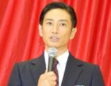 TBS火曜ドラマ『監獄のお姫さま』試写会後記者取材会に出席した伊勢谷友介 (C)ORICON NewS inc.