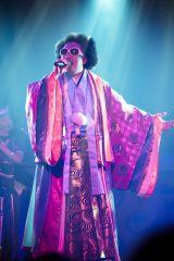 日本武道館2daysライブを開催したレキシ Photo by 田中聖太郎