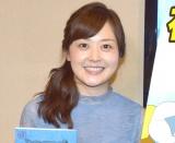 """TVアニメ声優で""""食リポ""""に挑戦する水卜麻美アナウンサー (C)ORICON NewS inc."""