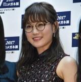 『第30回 日本 メガネ ベストドレッサー賞』の特別賞を受賞した欅坂46・守屋茜 (C)ORICON NewS inc.