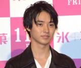 映画『氷菓』の完成披露試写会イベントに出席した山崎賢人 (C)ORICON NewS inc.