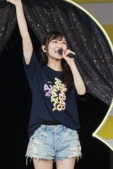 大阪城ホール公演で卒業発表したNMB48の矢倉楓子(C)NMB48