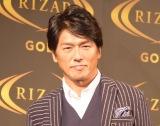 """『RIZAP GOLF』でスコア""""100切り""""を達成した高橋克典 (C)ORICON NewS inc."""