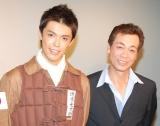 (左から)清水良太郎、清水アキラ(C)ORICON NewS inc.