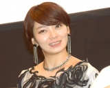 """""""結婚""""をイジられ苦笑した田畑智子 (C)ORICON NewS inc."""