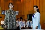 第1話より。患者ファーストの女性院長役で大地真央(右)が出演(C)テレビ朝日