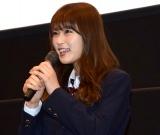 『海辺の週刊大衆』の舞台あいさつに登壇したNMB48・渋谷凪咲 (C)ORICON NewS inc.