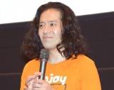 『海辺の週刊大衆』の舞台あいさつに登壇した又吉直樹 (C)ORICON NewS inc.