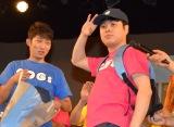 『京都国際映画祭』(15日まで)で行われたSDGs(持続可能な開発目標)のPRイベント『SDGs花月〜映画もお笑いも新喜劇もぜんぶ〜』内のSDGs-1グランプリに優勝したNON STYLE (C)ORICON NewS inc.