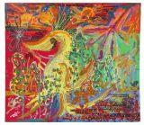 香取慎吾の作品「火のトリ」