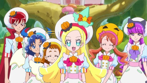 ABC・テレビ朝日系『キラキラ☆プリキュア アラモード』第37回(10月22日放送)より(C)ABC-A・東映アニメーション