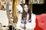 自己最高の14位で初の選抜入りを果たしたSKE48・古畑奈和(C)AKS