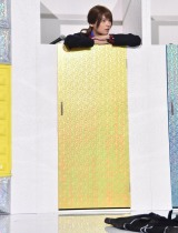 ドラマ『重要参考人探偵』制作発表会見で生着替えを披露した古川雄輝 (C)ORICON NewS inc.