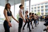 ダンスを披露したヒントン・バトル ダンスアカデミーの生徒