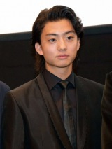『京都国際映画祭』で主演映画『デメキン』(12月2日公開)の舞台あいさつに登壇した健太郎 (C)ORICON NewS inc.