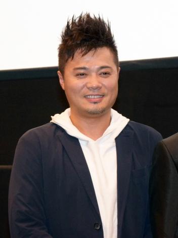 『京都国際映画祭』で映画『デメキン』(12月2日公開)の舞台あいさつに登壇した佐田正樹 (C)ORICON NewS inc.