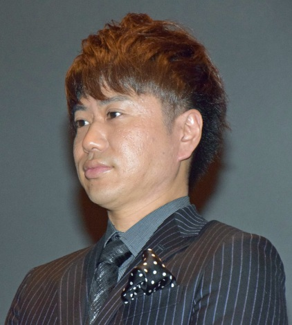京都国際映画祭で映画『火花』の舞台あいさつに登壇した2丁拳銃の川谷修士 (C)ORICON NewS inc.