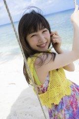 20歳の記念に写真集を発売する桜井日奈子=2nd写真集「桜井日奈子!」より