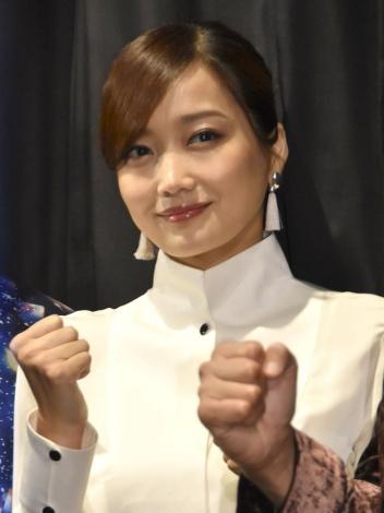 映画『リングサイド・ストーリー』初日舞台あいさつに登壇した佐藤江梨子(C)ORICON NewS inc.