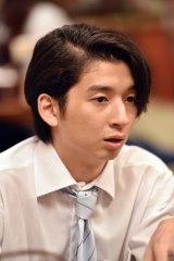 日曜劇場『陸王』(10月15日スタート)で俳優デビューする緒方敦。父は緒形直人、祖父は緒形拳さん(C)TBS