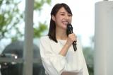 『テレビ朝日アナウンサー2018年カレンダー』販売開始記念イベントに登場した林美沙希アナウンサー(C)テレビ朝日