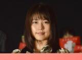 映画『ナラタージュ』大ヒット舞台あいさつに出席した有村架純 (C)ORICON NewS inc.