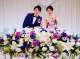 結婚披露宴を行ったことを報告したかまいたち・濱家隆一(写真はインスタグラムより)
