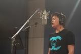 新球団歌のレコーディングに臨む高崎健太郎選手(C)YOKOHAMA DeNA BAYSTARS