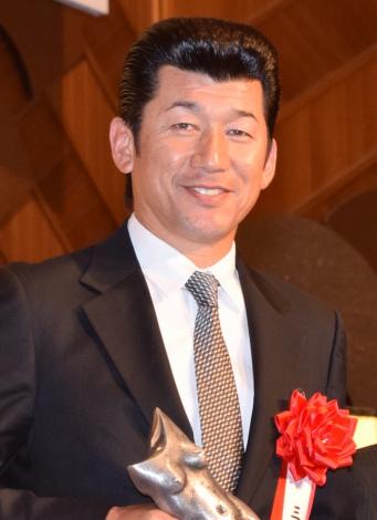 『平成28年度 ゆうもあ大賞』授賞式に登壇した桐生祥秀 (C)ORICON NewS inc.