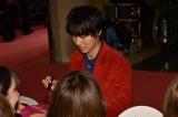映画『斉木楠雄のΨ難(サイなん)』完成披露試写会のピンクカーペットイベントに出席した山崎賢人