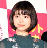 映画『亜人』初日舞台あいさつに登壇した浜辺美波 (C)ORICON NewS inc.