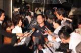 雨の中、多くの報道陣が集まった (C)ORICON NewS inc.