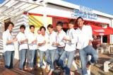 SOLIDEMOが神奈川・逗子市にオープンした日本テレビ主催の海の家『日テレRESORT seazoo 2017』一日店長に就任 (C)日本テレビ