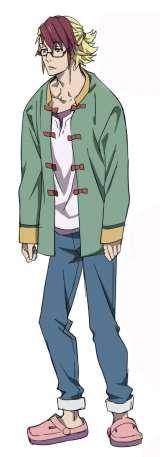 『河森正治 NEW PROJECT BRIEFING』にて発表されたアニメ『重神機 パンドーラ』のキャラクタービジュアル レオン(全身) (C)Shoji Kawamori,Satelight / Xiamen Skyloong Media