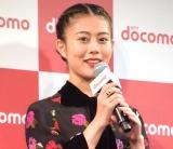 NTTドコモ『2017-2018 冬春 新サービス・新商品』の発表会に出席した高畑充希 (C)ORICON NewS inc.