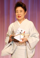 『第2回ベストエンゲージメント2014』表彰式に出席した中村玉緒 (C)ORICON NewS inc.