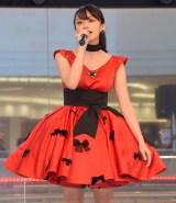 デビュー曲「明日はきっといい天気」の発売記念イベントを行った山地まり (C)ORICON NewS inc.