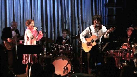 20日放送のTBS系『中居正広の金曜日のスマイルたちへ』で大竹しのぶの還暦祝パーティーをテレビ初公開 (C)TBS
