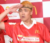 日本マクドナルド『McHappy Day』発表会に出席した鴛海友輔 (C)ORICON NewS inc.