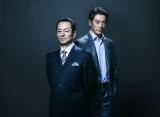 10月18日、初回放送直前に水谷豊、反町隆史が「相棒」公式アカウントに登場(C)テレビ朝日