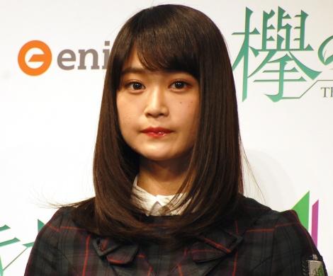 公式ゲームアプリ『欅のキセキ』のリリース&新CM発表会に登壇した欅坂46・石森虹花 (C)ORICON NewS inc.