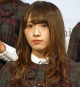 公式ゲームアプリ『欅のキセキ』のリリース&新CM発表会に登壇した欅坂46・渡辺梨加 (C)ORICON NewS inc.