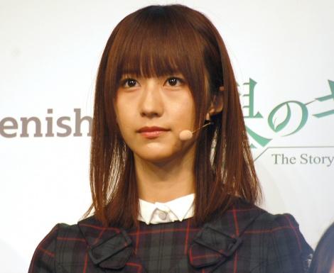 公式ゲームアプリ『欅のキセキ』のリリース&新CM発表会に登壇した欅坂46・土生瑞穂 (C)ORICON NewS inc.