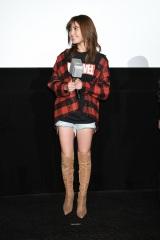 映画『マイティ・ソー バトルロイヤル』日本最速試写会上映後トークイベントに出席した宇野実彩子